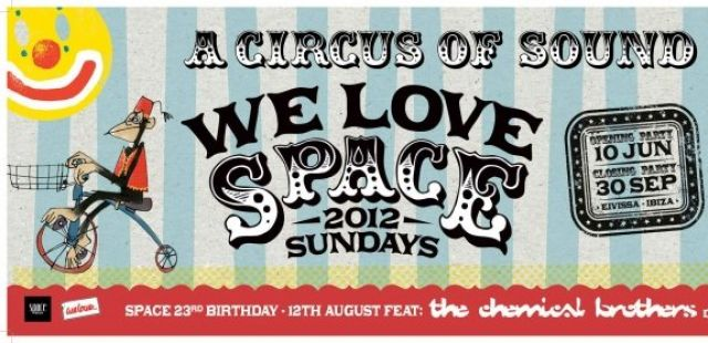 Full line-ups announced for We Love… Space 2012