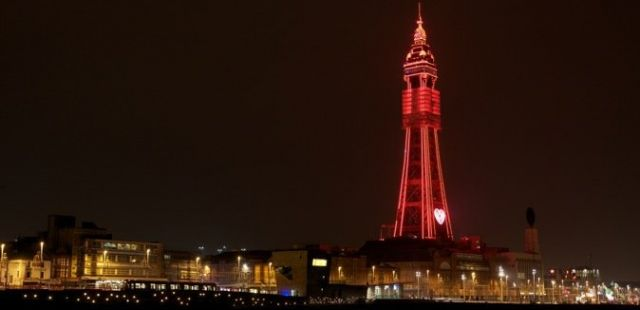 preview: randy ron and Blackpool tower present the august skywalk