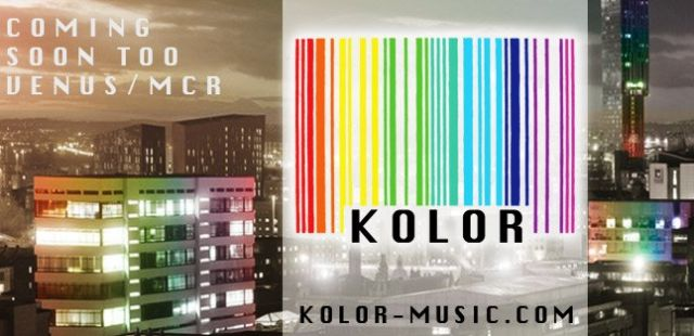 'KOLOR' to launch in Manchester in September at Venus