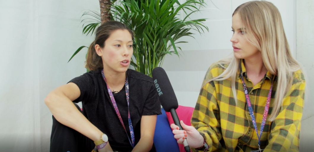 Watch: Monki interview at Parklife 2017
