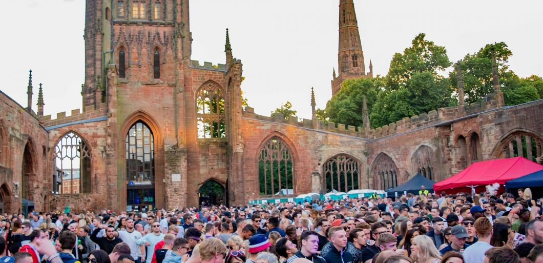 Ruins returns to Coventry Cathedral with Solardo and Jackmaster