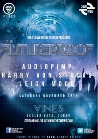 Future Proof - Newest club night to hit Derby to stream live on the internet!
