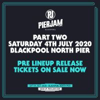 PIERJAM ANNOUNCE SECOND DATE FOR THEIR 2020 SUMMER SEASON OF EVENTS!