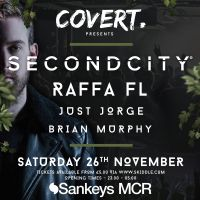 Covert returns to Sankeys in November with Secondcity & Raffa FL