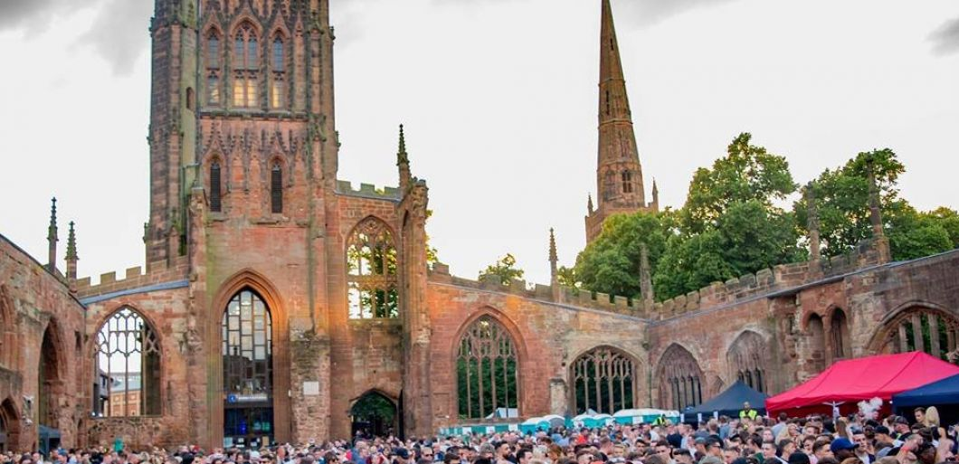 Coventry Cathedral hosts the second edition of Ruins