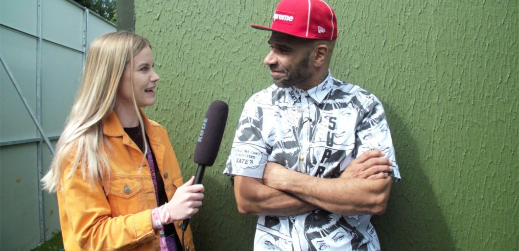 Watch: Goldie interview at Parklife 2017