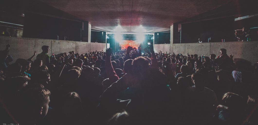 Rebuke, Matador and Paolo Mojo play Jika Jika's secret warehouse rave