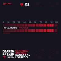 DARREN STYLES, TEDDY CREAM AND MORE SHOW AT LIVERPOOLS HANGAR34 HEADING FOR TOTAL SELL OUT!