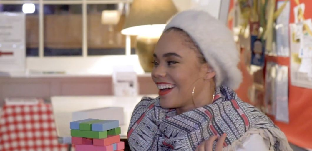 Andreya Triana: playing jenga (badly) and 'things that are not ok'