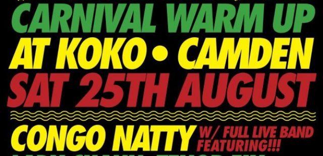 Win! Ticket to Vagabondz Carnival warm up party