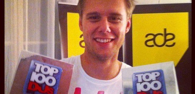 Armin Van Buuren tops DJ Mag Top 100