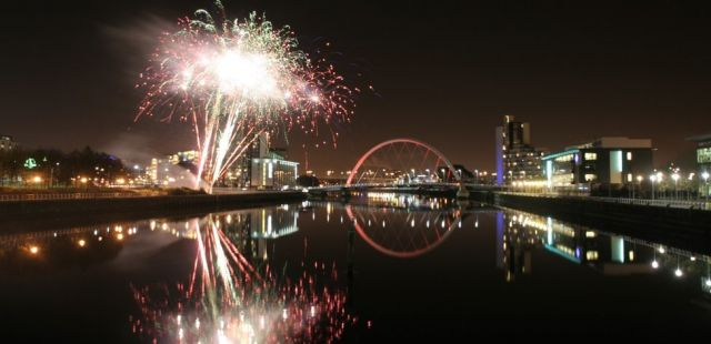 New Year's Eve in Glasgow