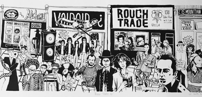 Rough Trade celebrate 40 years with limited memorabilia