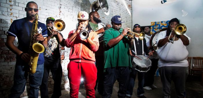Hot 8 Brass Band return to the UK this summer