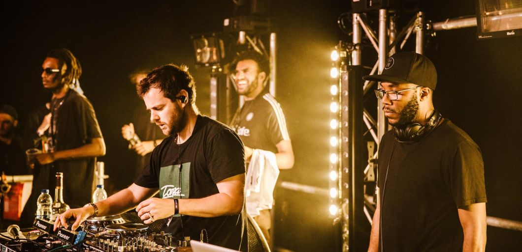 Mike Skinner heads up the huge Red Eye Carnival