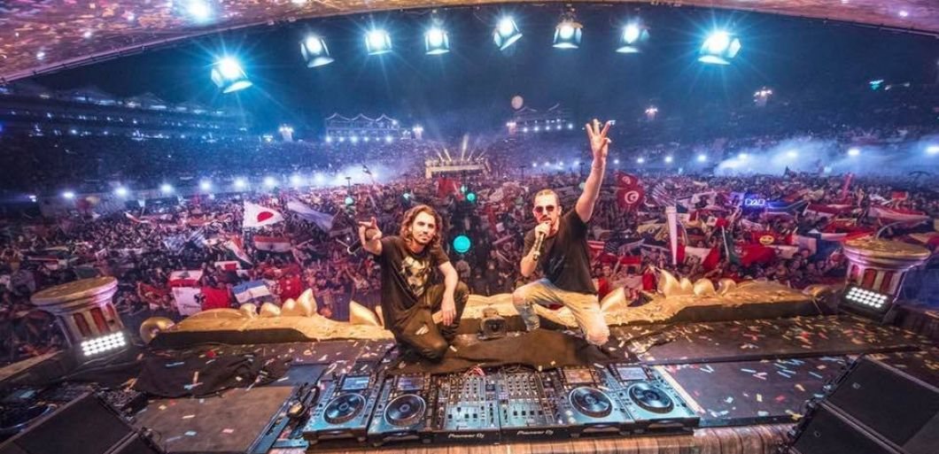Dimitri Vegas and Like Mike Glasgow announced