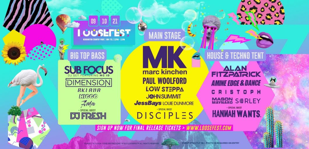 Final release tickets for LooseFest 2021 now on sale