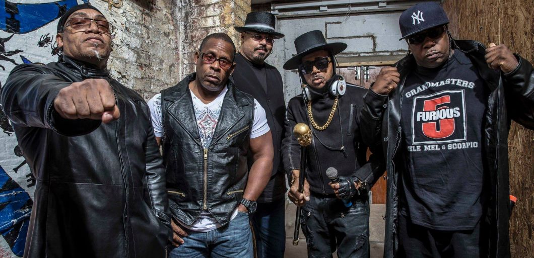 Sugarhill Gang and members of the Furious Five tour the UK