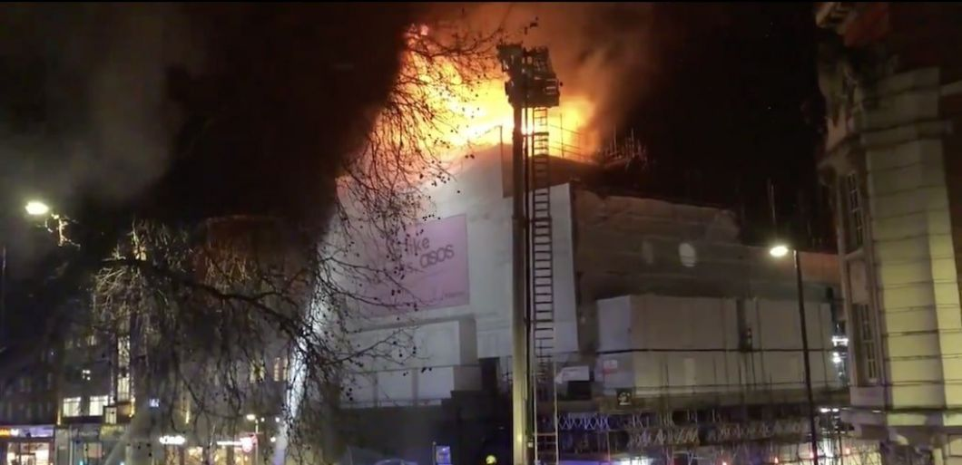 Iconic London venue KOKO hit by blaze