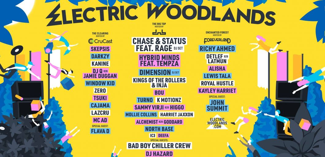 Brand new festival Electric Woodlands 2021 set to welcome huge names this autumn