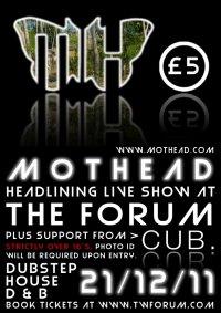Mothead - Live show at Tunbridge Wells Forum