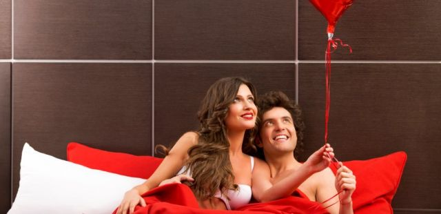 Romance is bed: study shows men and women's Valentine's goals