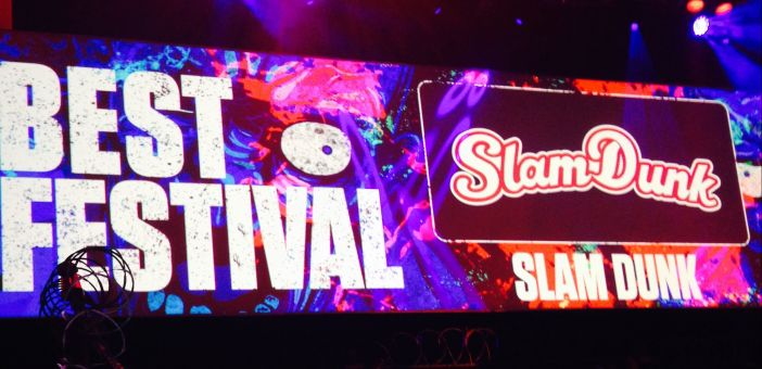 Slam Dunk wins Best Festival at Kerrang! awards