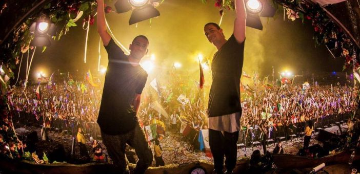 Win tickets to see Dimitri Vegas & Like Mike in Edinburgh