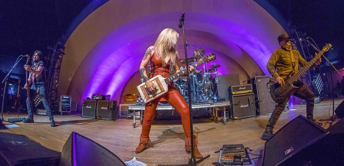 Lita Ford comes to Basingstoke for only UK date with LA Guns