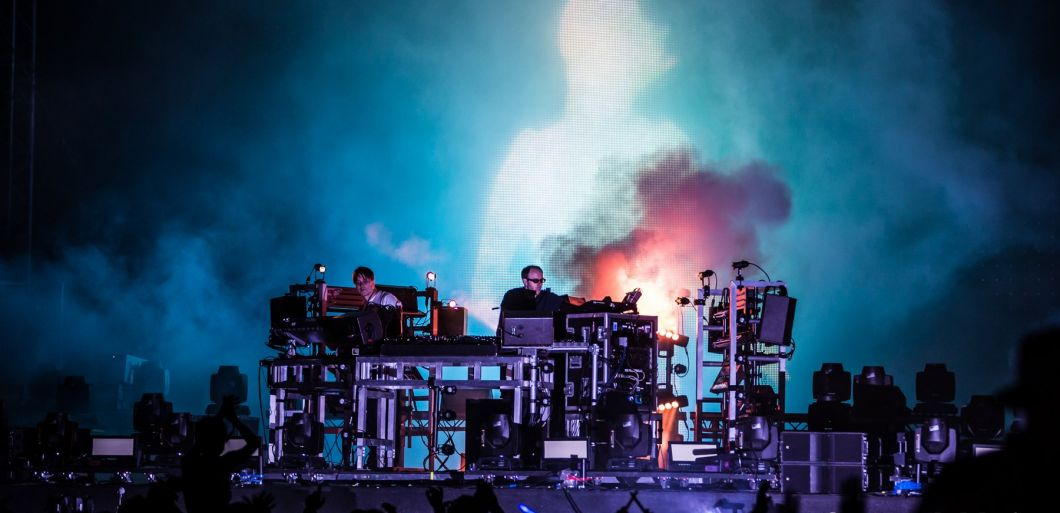 The Chemical Brothers at Creamfields: two decades in pictures