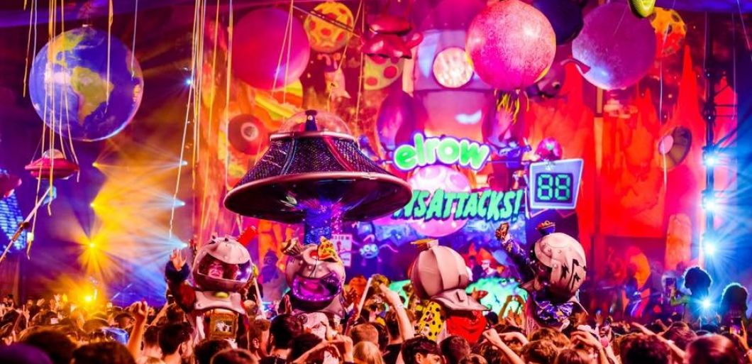 Elrow and Circus unite to present 'The Rowmuda Triangle'