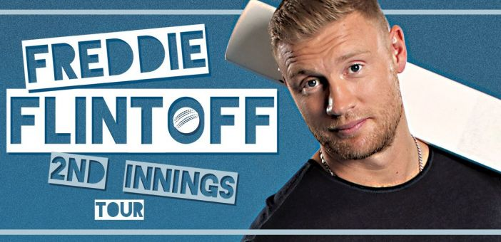 Freddie Flintoff's 2nd innings UK tour now on sale