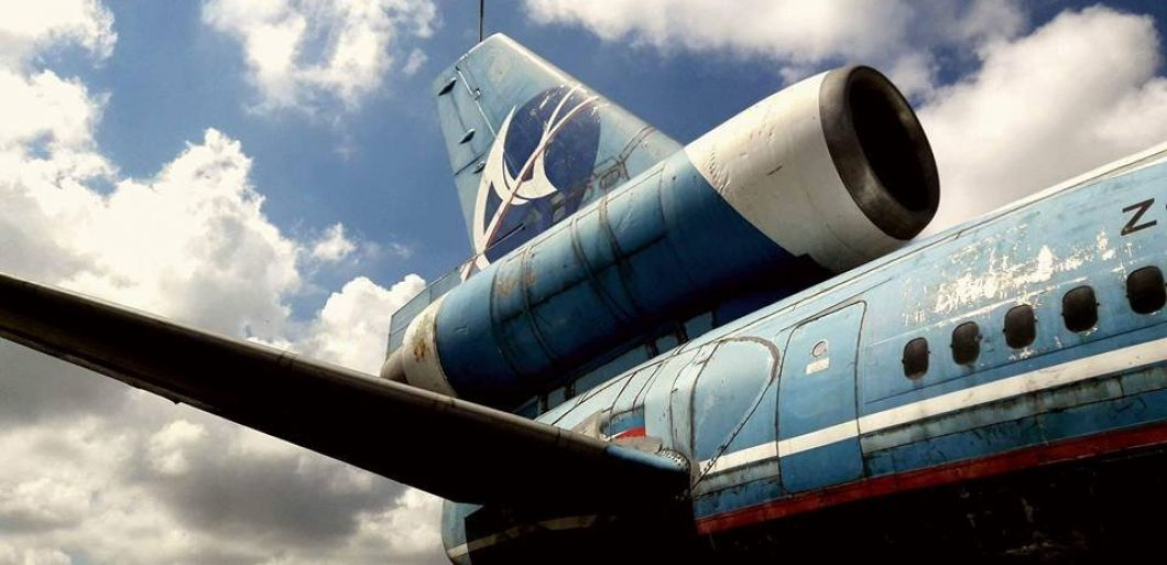 This disused aeroplane is set to become an epic new raving spot