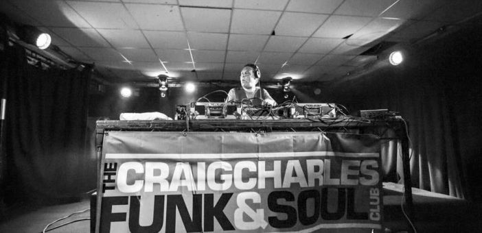 Craig Charles live at Band On The Wall Manchester review