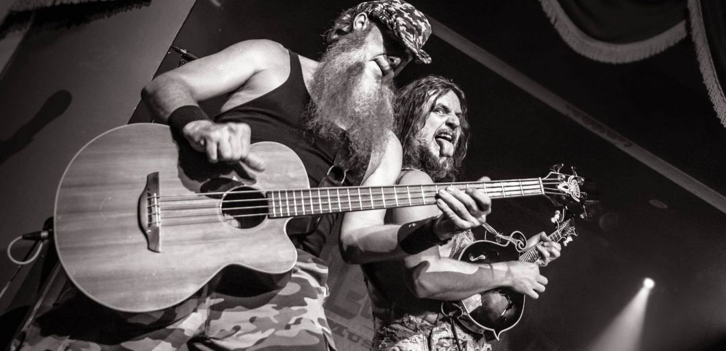 Hillbilly rock comes to Northampton as Hayseed Dixie to play