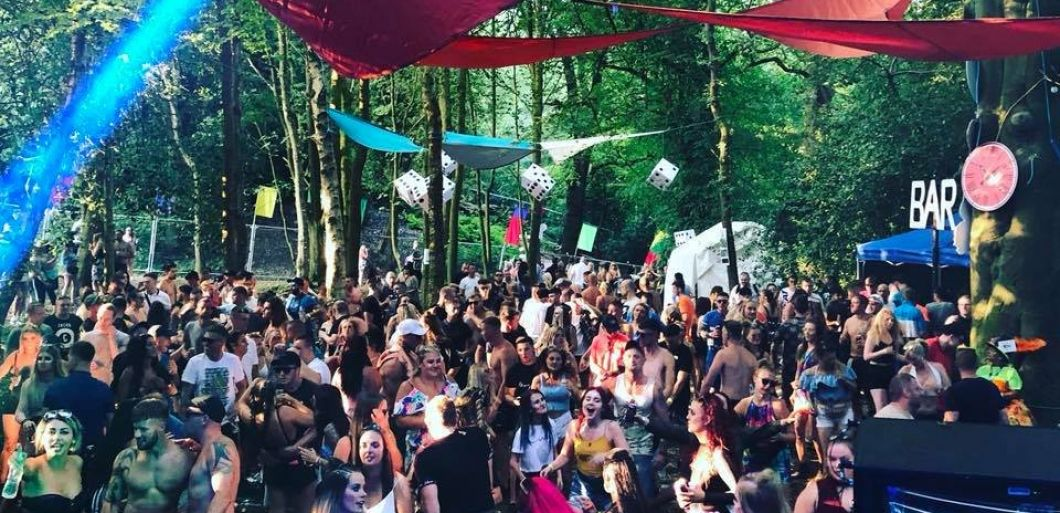 Huge DJ talent on Restricted Forest line up