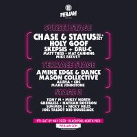 PierJam Announce Full Line Up & Stage Splits for their 1st 2020 event!