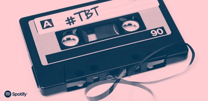 Spotify reveals most popular #TBT songs of all time