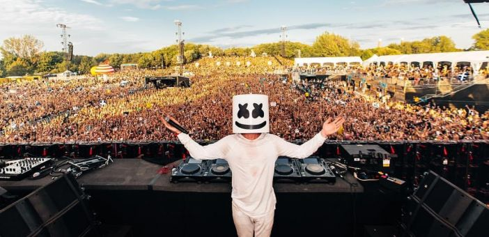 Marshmello comes to Leeds for a bank holiday show