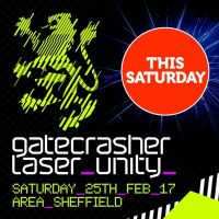 Gatecrasher returns THIS SATURDAY!
