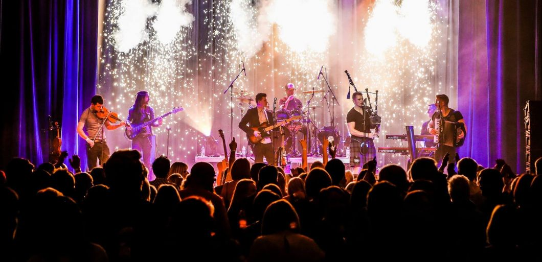 Scottish seven piece Skerryvore to play Carlise