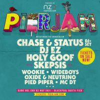 Tickets for PierJam 2021 w/ Chase & Status(DJ Set), DJ EZ, Holy Goof  & More On Sale Now
