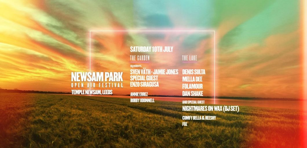 Newsam Park Festival 2021: 'July 10th Leeds' interview with Annie Errez & Reeshy