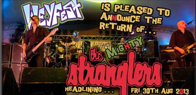 The Stranglers announced for Weyfest 2013