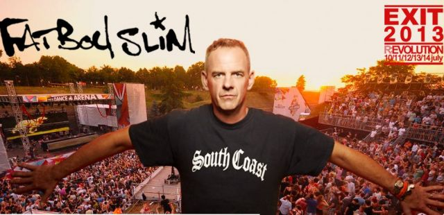 Fatboy Slim announced for Exit Festival
