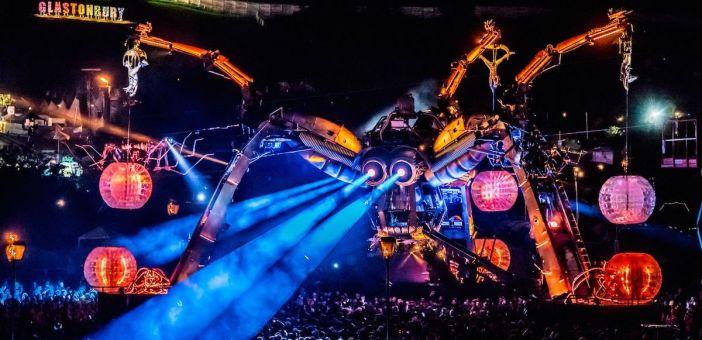 Arcadia's Metamorphosis show burns bright at Glastonbury