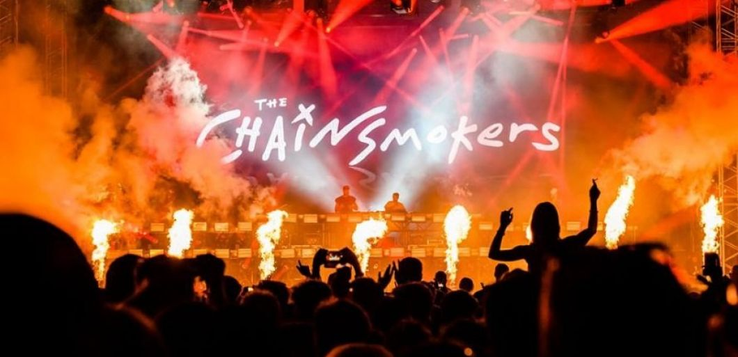 Chainsmokers announce huge arena show