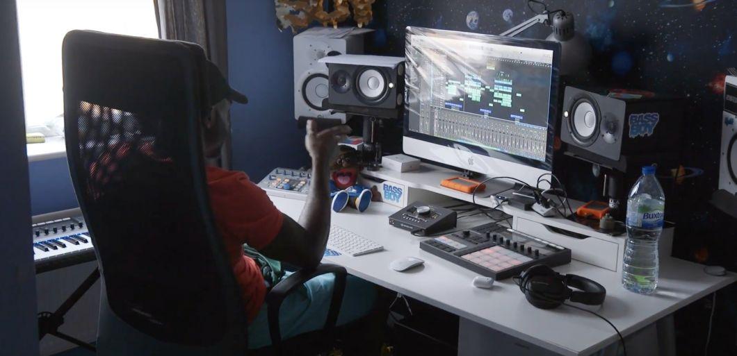 Bassboy shows us around his home studio