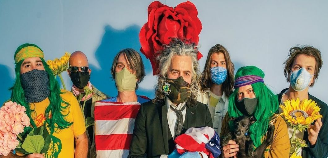 The Flaming Lips perform first show in Covid compliant 'Space Bubble's'