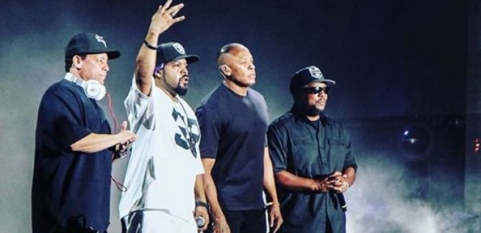 N.W.A performed together for the first time in 27 years at Coachella